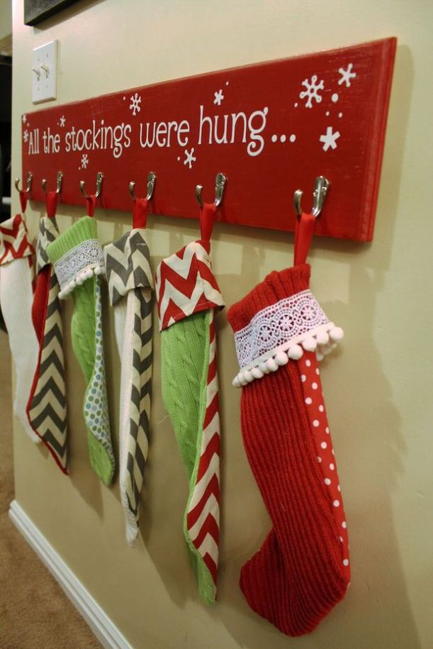 stocking hangers