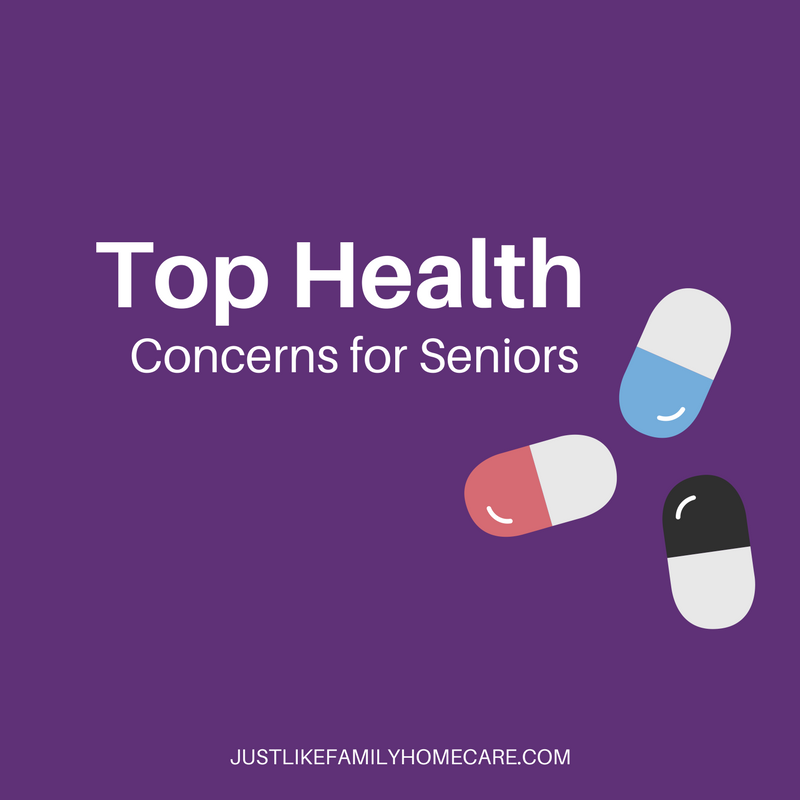 Top health concerns for seniors - Just Like Family Homecare